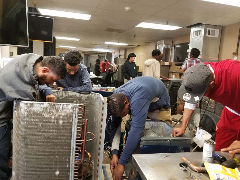 HVAC LAB - Houston School of Carpentry